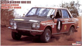 Автомобиль NISSAN BLUEBIRD 1600 SSS 1970 EAST AFRICAN SAFARI RALLY Hasegawa 21266