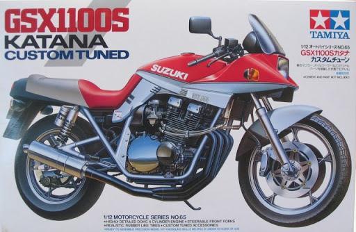 Спортивный мотоцикл Suzuki GSX1100S Katana 'Custom Tuned' Tamiya 14065