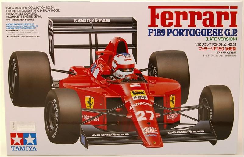Ferrari F189 Portuguese Tamiya 20024