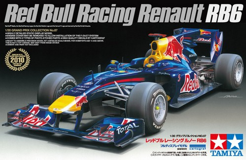 Автомобиль Red Bull RB6 2010 Tamiya 20067