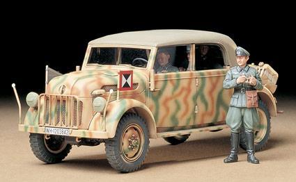 Немецкий Steyr Командирский автомобиль Tamiya 35235