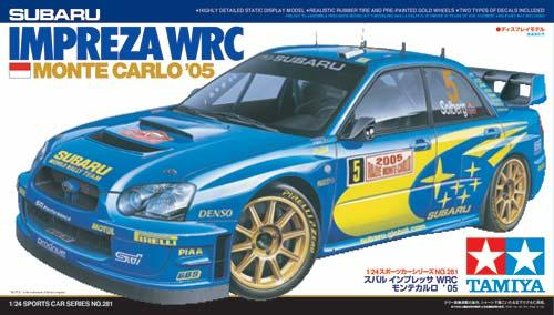Субару Импреза WRC 2005 / Subaru Impreza WRC 2005 Monte-Carlo Tamiya 24281