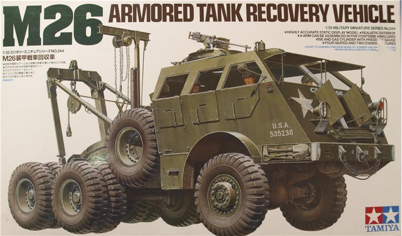 Американский тaнковый тягач M26 Tamiya 35244