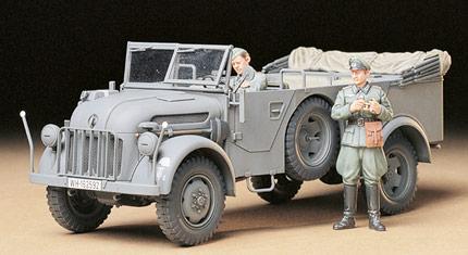 Немецкий автомобиль Steyr Type 1500A/01 Tamiya 35225