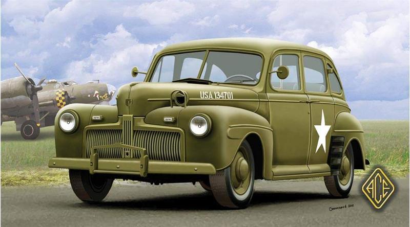 Американский штабной автомобиль 1942г Ace 72298