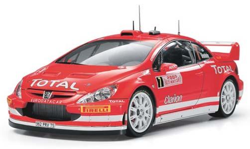 Автомобиль Peugeot 307 WRC Monte Carlo 2005 Tamiya 24285