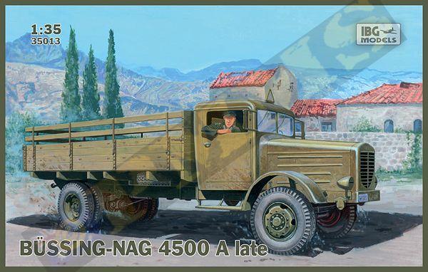 Грузовой автомобиль (BUSSING-NAG) 4500A поздняя версия IBG Models 35013