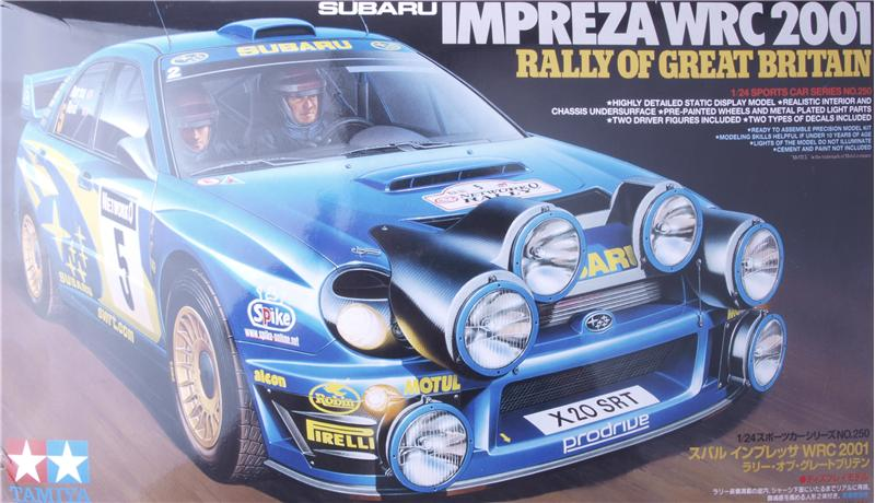 Автомобиль Субару Импреза WRC 2001 / Subaru Impreza WRC 2001 Tamiya 24250