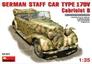Немецкий штабной автомобиль Тип 170V Кабриолет Б MiniArt 35107 основная фотография