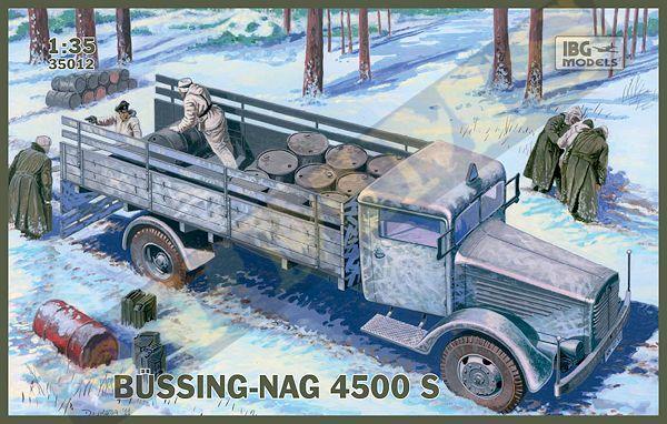 Грузовой автомобиль (BUSSING-NAG) 4500S IBG Models 35012
