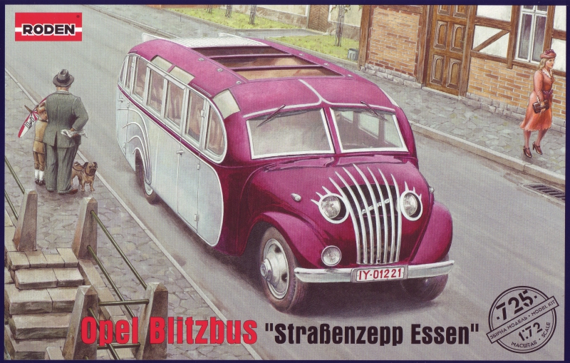 Автобус Opel Blitzbus 'Strasenzepp Essen' Roden 725