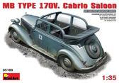 Немецкий автомобиль кабриолет MB Typ 170V (Cabrio Saloon)