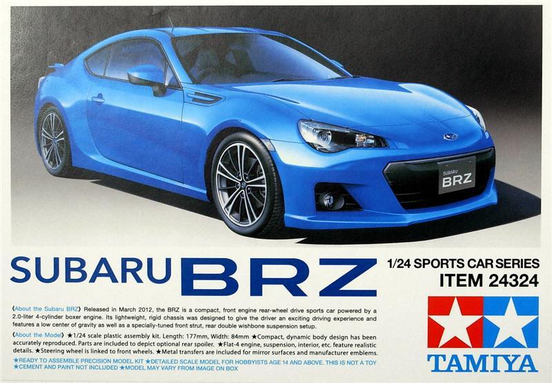Автомобиль Subaru BRZ Tamiya 24324