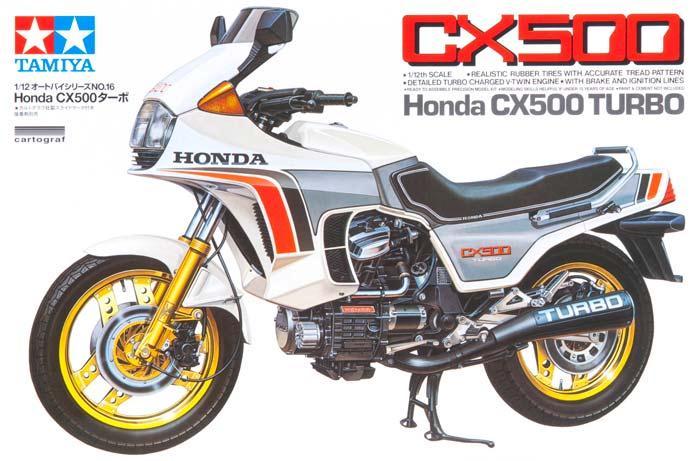 Мотоцикл Honda CX500 Turbo Tamiya 14016