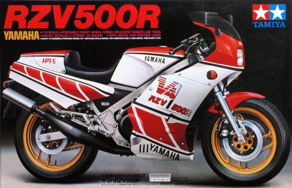 Мотоцикл Yamaha RZV500R Tamiya 14037