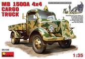 Немецкий полноприводный грузовой автомобиль MB L1500A