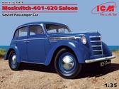 Отечественный пассажирский автомобиль Москвич-401-420 седан