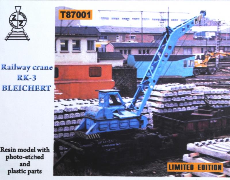 Железнодорожный кран RK-3 Bleichert ZZ MODELL 87001