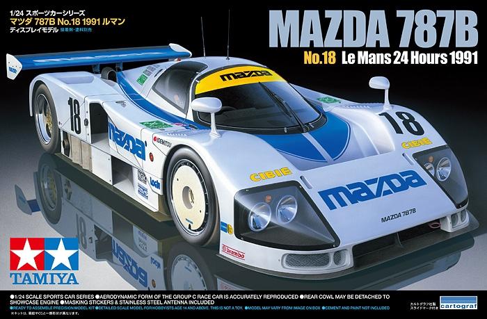 Автомобиль Mazda 787B №18 1991 Tamiya 24326