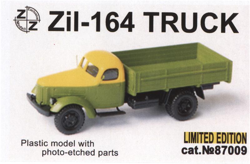 Грузовик Zil -164 ZZ MODELL 87009