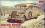 Немецкий штабной автобус Opel Blitz Omnibus W39, Африканский корпус Roden 721 основная фотография