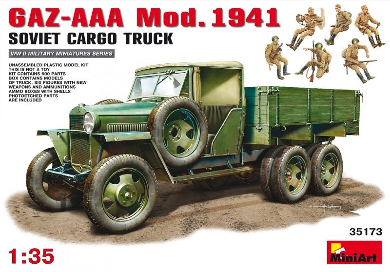 Грузовой  автомобиль  ГАЗ-AAA Обр. 1941 г. MiniArt 35173