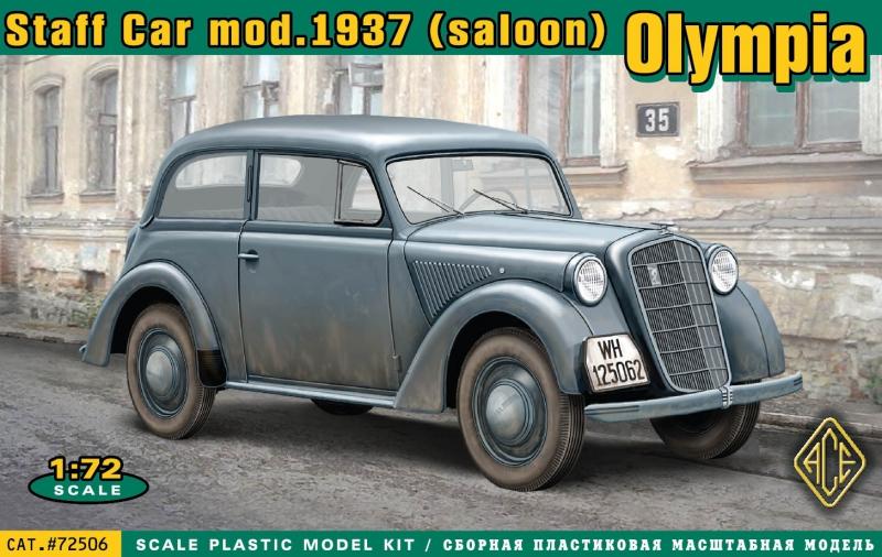 Штабная машина Olympia 1937 Ace 72506