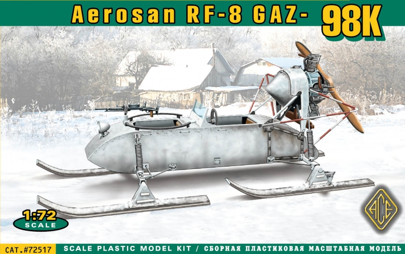 Самоходные сани РФ-8 (ГАЗ-98К) Ace 72517