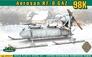 Самоходные сани РФ-8 (ГАЗ-98К) Ace 72517 основная фотография
