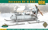 Самоходные сани РФ-8 (ГАЗ-98К)