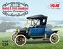 Американский пассажирский автомобиль Model T 1913 Roadster ICM 24001 основная фотография