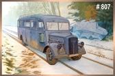 Немецкий штабной автобус Opel Blitz 3.6 – 47 Omnibus W39 Ludewig (Essen)