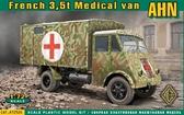 Медицинский фургон на базе 3,5т грузовика AHN