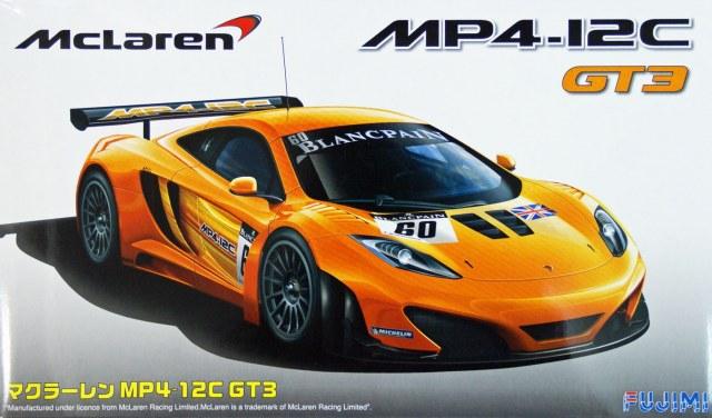 Автомобиль Mclaren MP4/12C GT3 Fujimi 125558