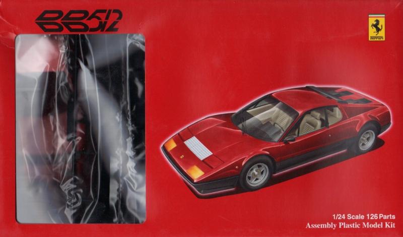 Автомобиль Ferrari 512BB Fujimi 122786