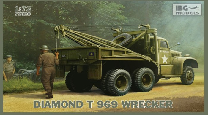 Эвакуатор Diamond T 969 IBG Models 72020