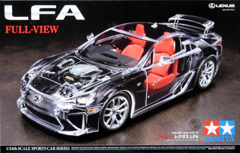 Автомобиль Lexus LFA (прозрачный кузов) Tamiya 24325
