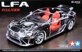 Автомобиль Lexus LFA (прозрачный кузов)
