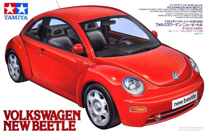 Автомобиль Volkswagen New Beetle Tamiya 24200