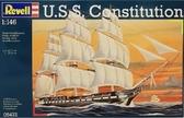 Парусный корабль Constitution в масштабе 1:146