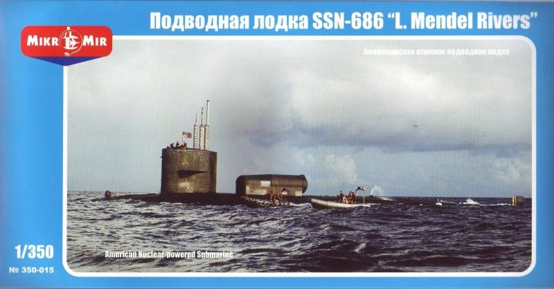 Атомная подводная лодка США SSN-686