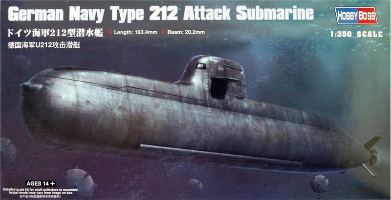 Подводная лодка Тип 212 Hobby Boss 83527