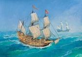 Испанский корабль Сан Мартин