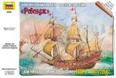 Флагманский корабль Френсиса Дрейка Ревендж от Звезда