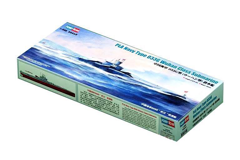 Подлодка типа 033G, класс Wuhan Hobby Boss 83516