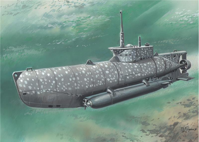 Немецкая подводная лодка типа XXVII