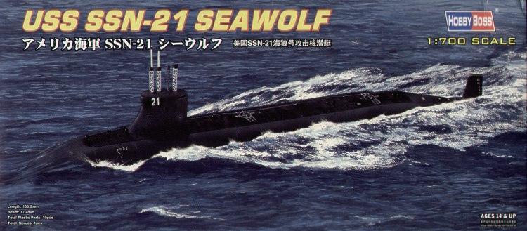 Американская подводная лодка SSN-21