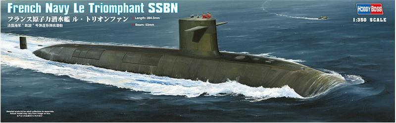 Подлодка Le Triomphant SSBN Hobby Boss 83519