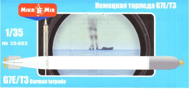 Немецкая электрическая торпеда Amp/Micro-Mir 35003