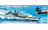 Английский крейсер Repulse 1941 от Trumpeter